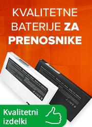 Kvalitetne baterije za prenosnike